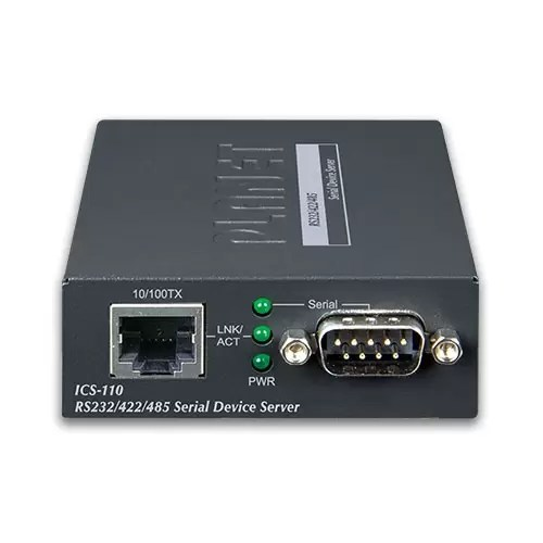 ICS-110 Serial Device Server Front