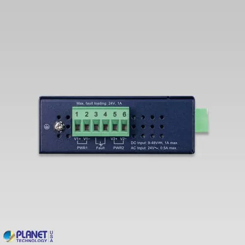 ICS-2100T Industrial Serial Device Server Top
