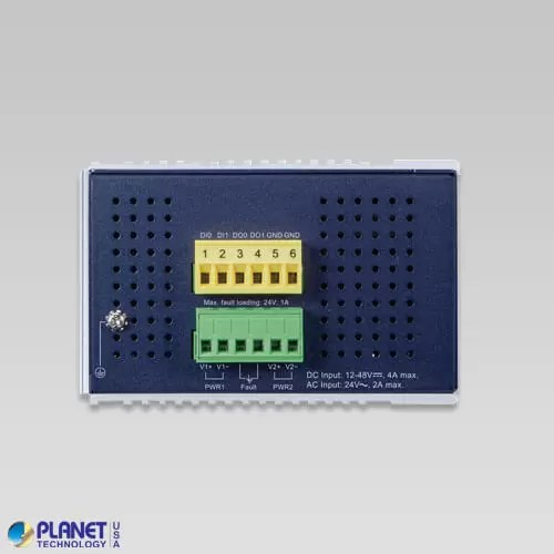 IGS-6325-8T4X Industrial SFP Switch Top