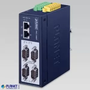 IMG-2400T Industrial 4-Port RS232/422/485 Modbus Gateway