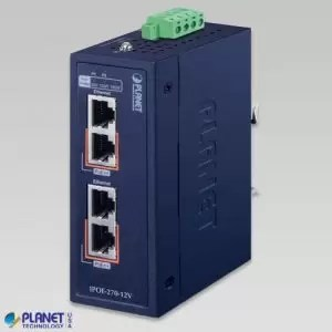 IPOE-270-12V Industrial PoE Injector