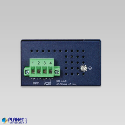 IPOE-270 Industrial PoE Injector Top