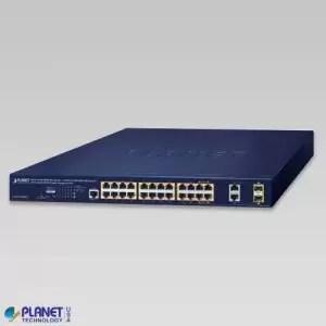 GS-4210-24HP2C PoE Switch