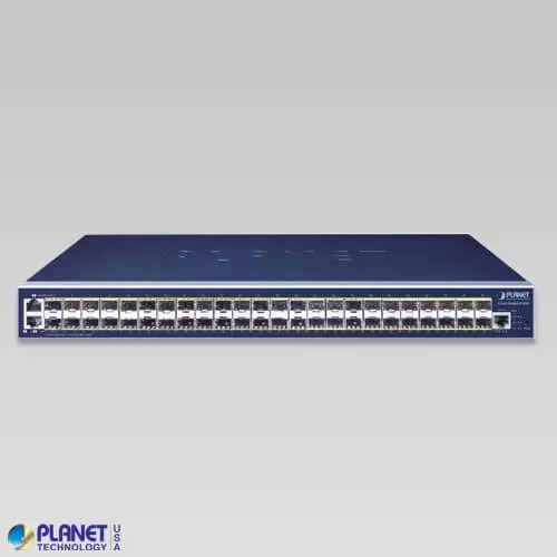 GS-6320-46S2C4XR Managed SFP Switch Front