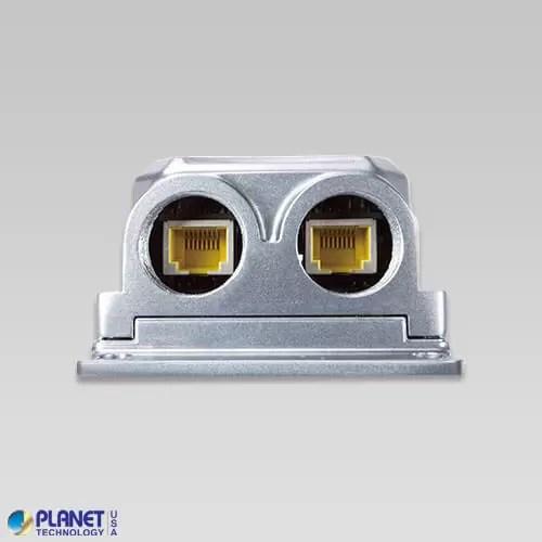 IPOE-165 Industrial PoE Injector Side 2
