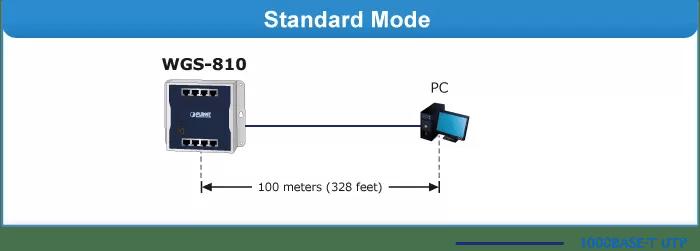 WGS-810 Standard Mode