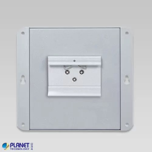 WGS-814HP Industrial Wall-Mount PoE Switch Back