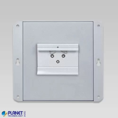 WGS-818HP Industrial Wall Mount PoE Switch Back