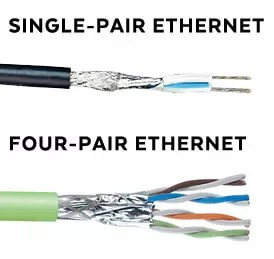 Single-Pair Ethernet, Four-Pair Ethernet