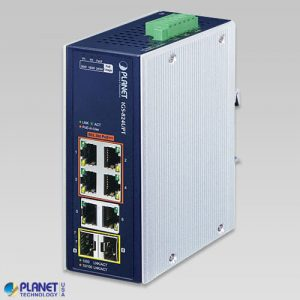 IGS-824UPT Industrial PoE Switch