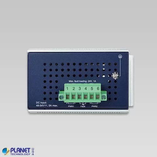 IGS-824UPT Industrial PoE Switch Top