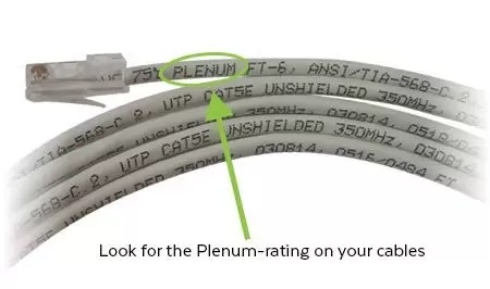 Plenum Rated Ethernet Cables