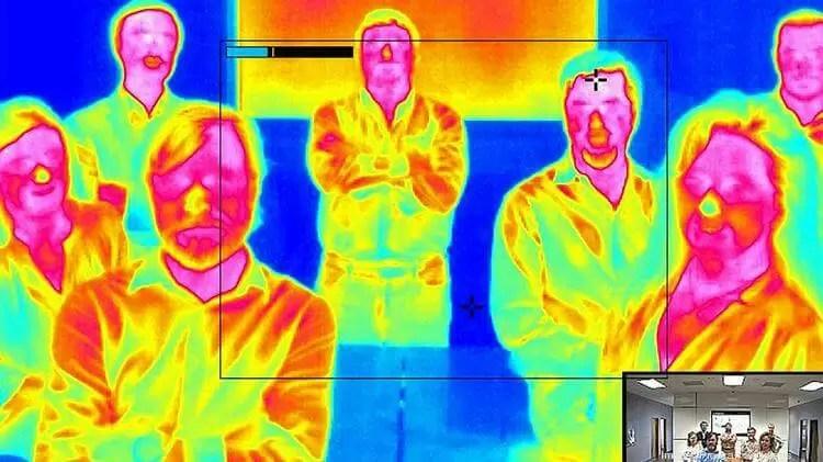 Thermal Imaging Security Camera