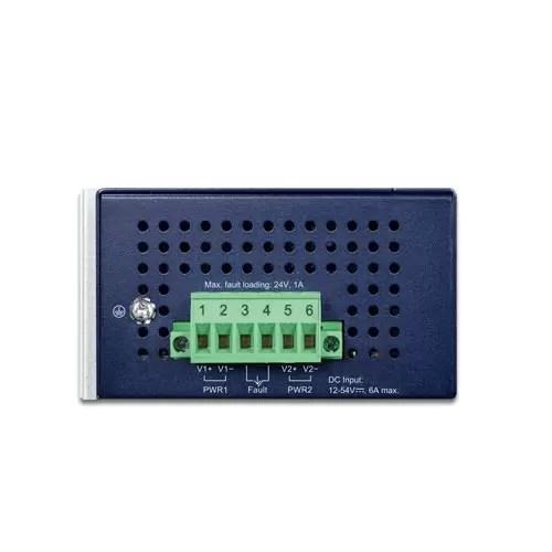 IPOE-470-12V Industrial PoE Injector Top