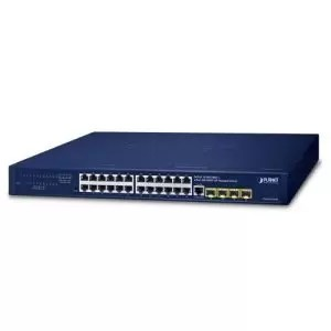 GS-4210-24T4S 24-Port 10/100/1000T + 4-Port 100/1000X SFP Managed Gigabit Switch
