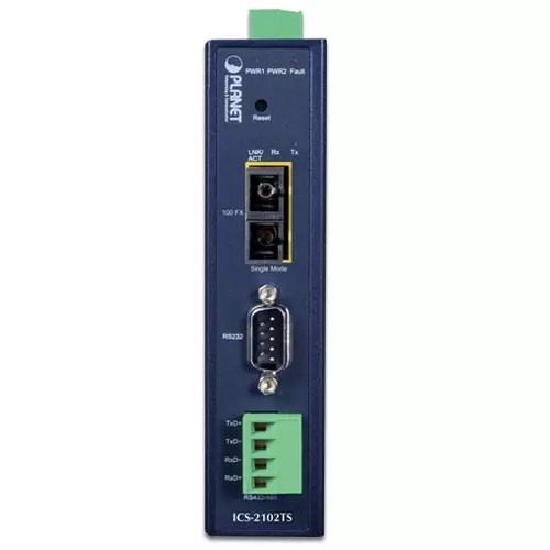 ICS-2102TS Industrial Serial Device Server front