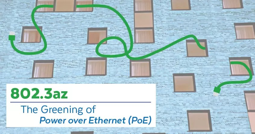 802.3az: The Greening of Power over Ethernet (PoE)