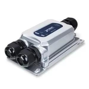 IPOE-175S Industrial IP67 802.3bt PoE++ Splitter (DC 12V, -40~75C)