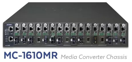 MC-1610MR Media Converter Chassis