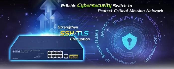 GS-4210-8T2S Cybersecurity