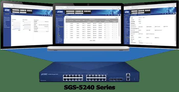 SGS-5240-20S4C4XR Management