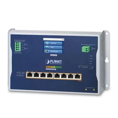 WGS-5225-8UP2SV Industrial PoE Switch