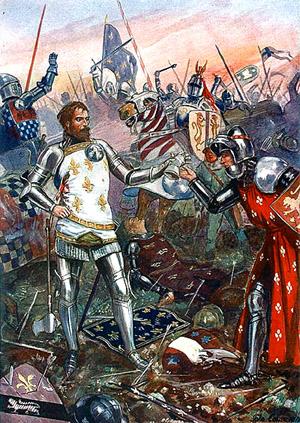 Le royaume de France médiéval :: Bataille de Poitiers 1356