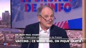 Dr Jean Paul Hamon: « On a balancé 50 doses de Pfizer hier parce que l'ARS a interdit qu'on les fasse. Alors accrochez-vous car je vais vous dire pourquoi… »