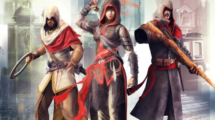 Illustration officielle de Assassin's Creed Chronicles