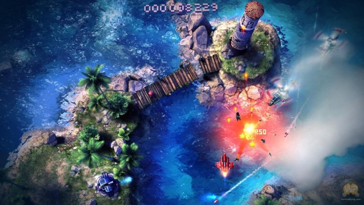 Sky Force Anniversary Limited Run PS Vita PS4