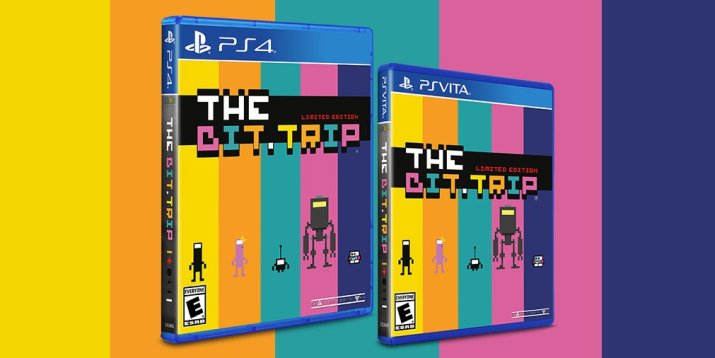 The Bit.TRIP Limited Run PS VITA