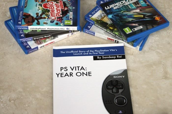 Un projet de livre sur la PS Vita entièrement financé via Kickstarter !