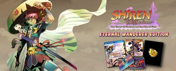Shiren the Wanderer - Eternal Wanderer Edition à 18,21 € PS Vita