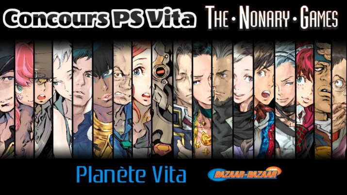 Concours The Nonary Games PS Vita