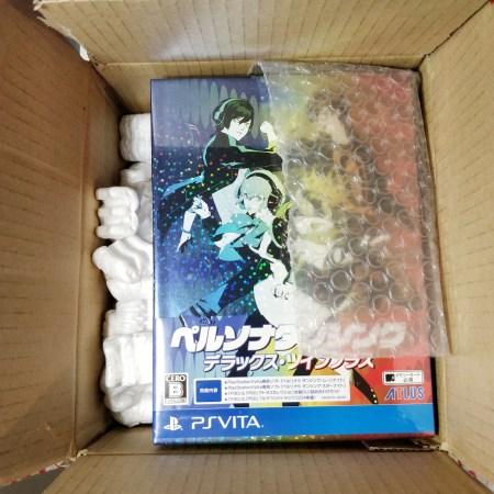 Persona Dancing Deluxe Twin Plus PS Vita Unboxing