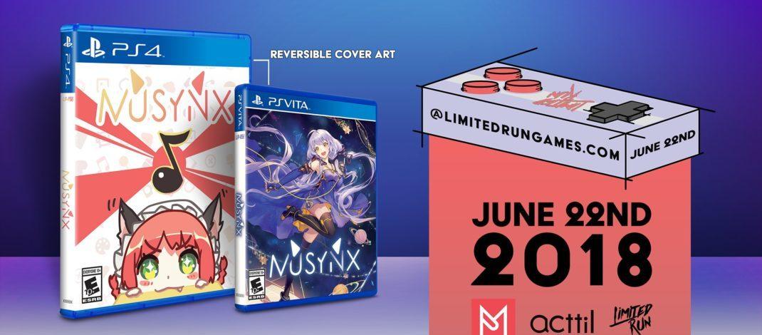 MUSYNX : le jeu musical disponible en précommande dès aujourd'hui chez Limited Run