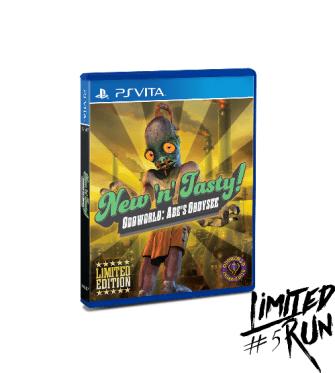 Oddworld New 'n' Tasty Limited Run PS Vita