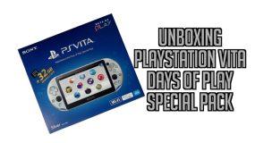 Déballage de la PlayStation Vita Days of Play Special Pack