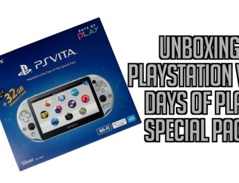 Déballage de la PlayStation Vita Days of Play Special Pack