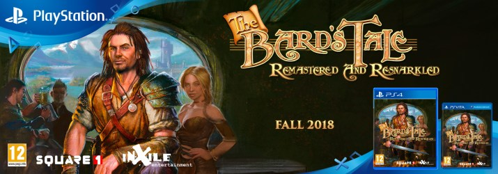 Red Art Games annonce la sortie physique limitée de The Bard's Tale: Remastered and Resnarkled