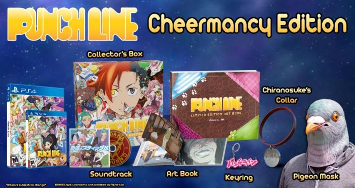 Punch Line édition collector PS Vita
