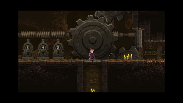 chasm enigme roue