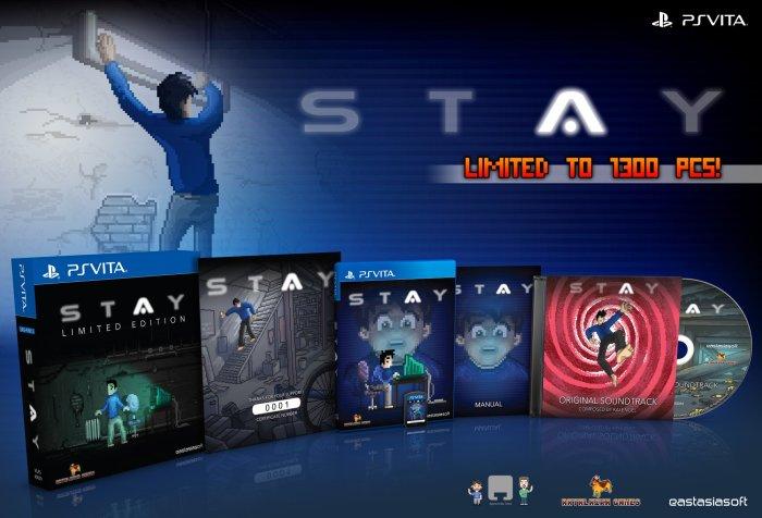 STAY édition physique limitée PS Vita