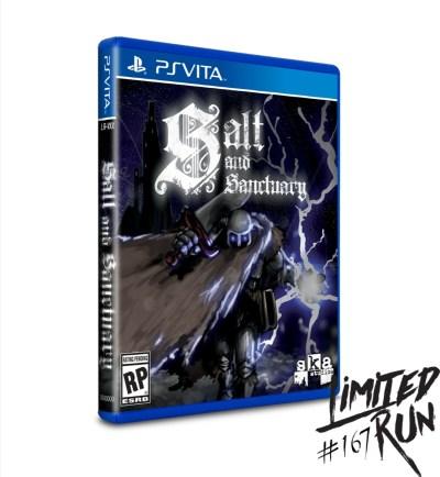 Salt & Sanctuary PS Vita Limited Run