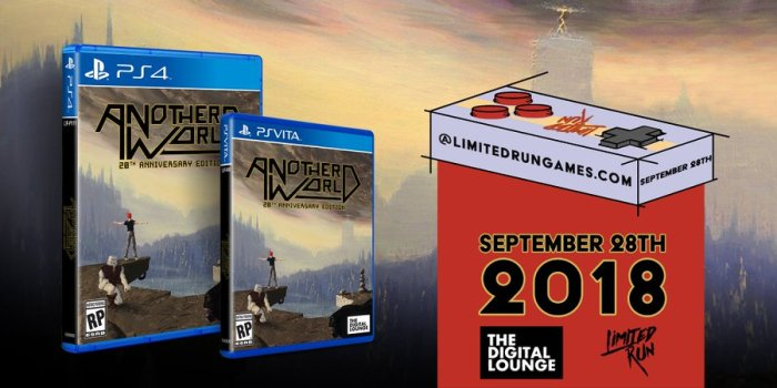 Another World Limited Run PS Vita PS4