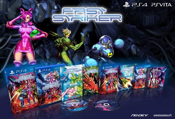 Fast Striker édition physique limitée PS Vita PS4