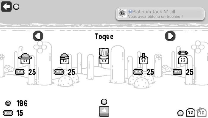 Jack N' Jill test avis PS Vita trophée platine