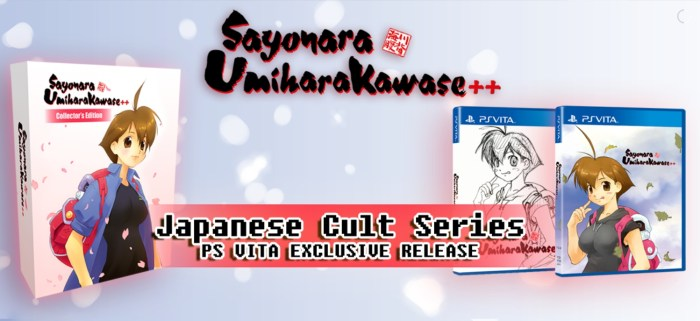 Sayonara Umihara Kawase++ arrive chez Strictly Limited sur PS Vita