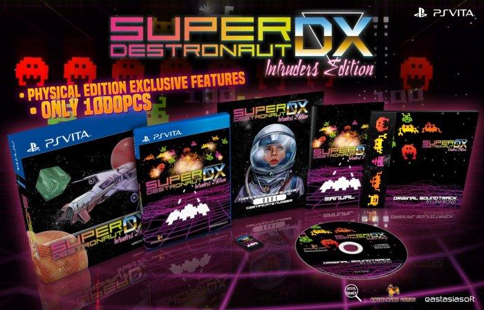 SUPER DESTRONAUT DX Édition physique limitée PS Vita