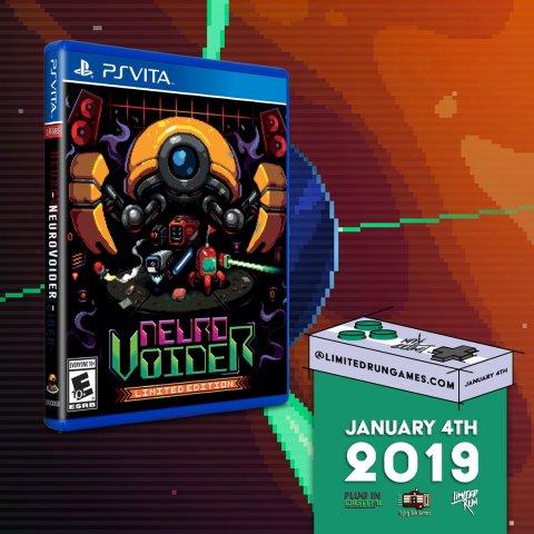 NeuroVoider Limited Run PS Vita